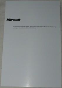 The Registration booklet
