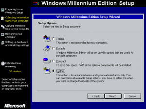 Customisation is as good as Windows 3.1 and has about the same stuff too
