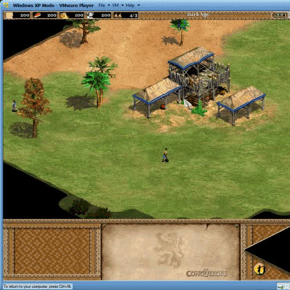 Age Of Empires 2 in VMWare