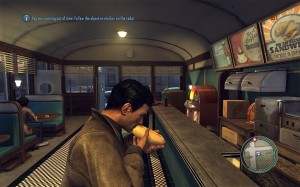 Mafia 2 Demo Eating