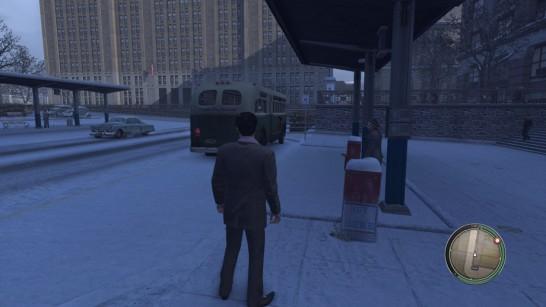 Mafia 2 Bus Stop