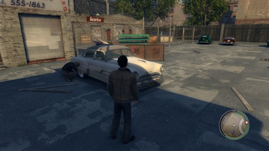 Mafia 2 Changing Tire