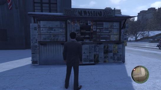 Mafia 2 News Stand