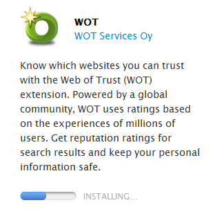 Web of Trust Safari Install