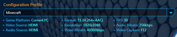 RECentral New Bitrate